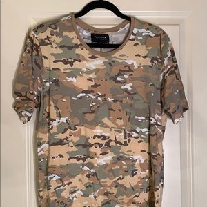 Men Camo Tshirt
